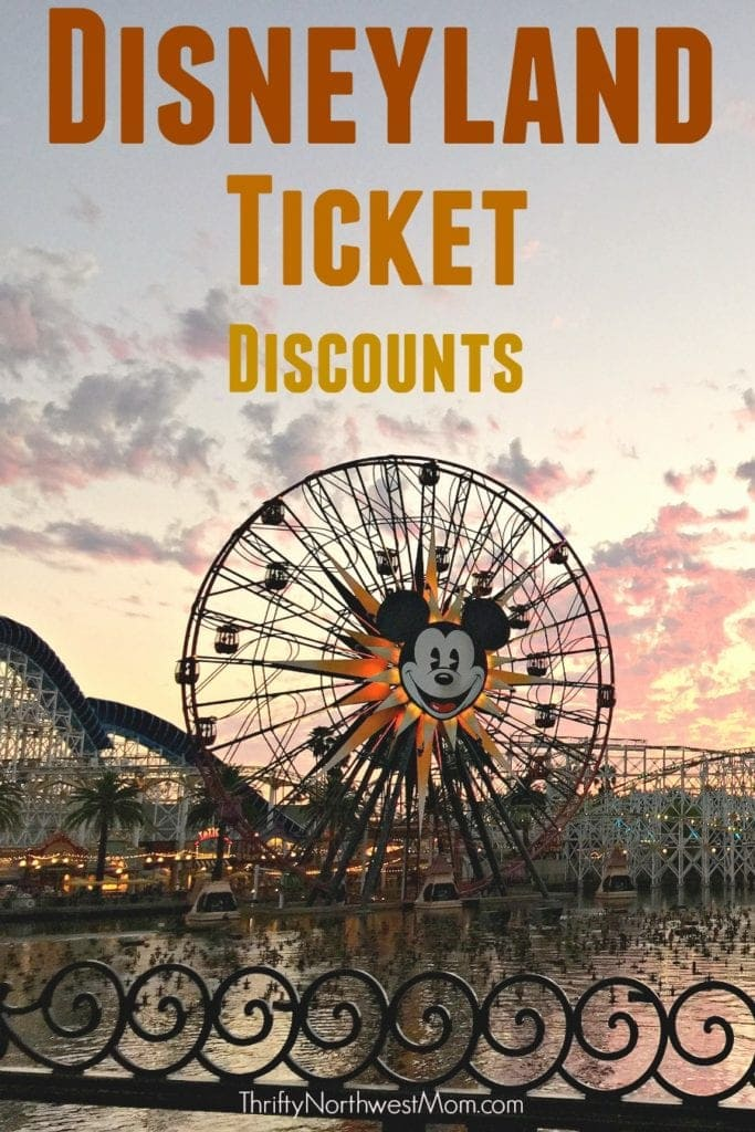 Disneyland Discount Tickets Updated Regularly