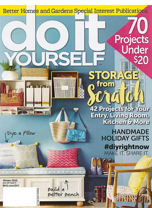 Do It Yourself Magazine for only $9.99 per year (64% off)!
