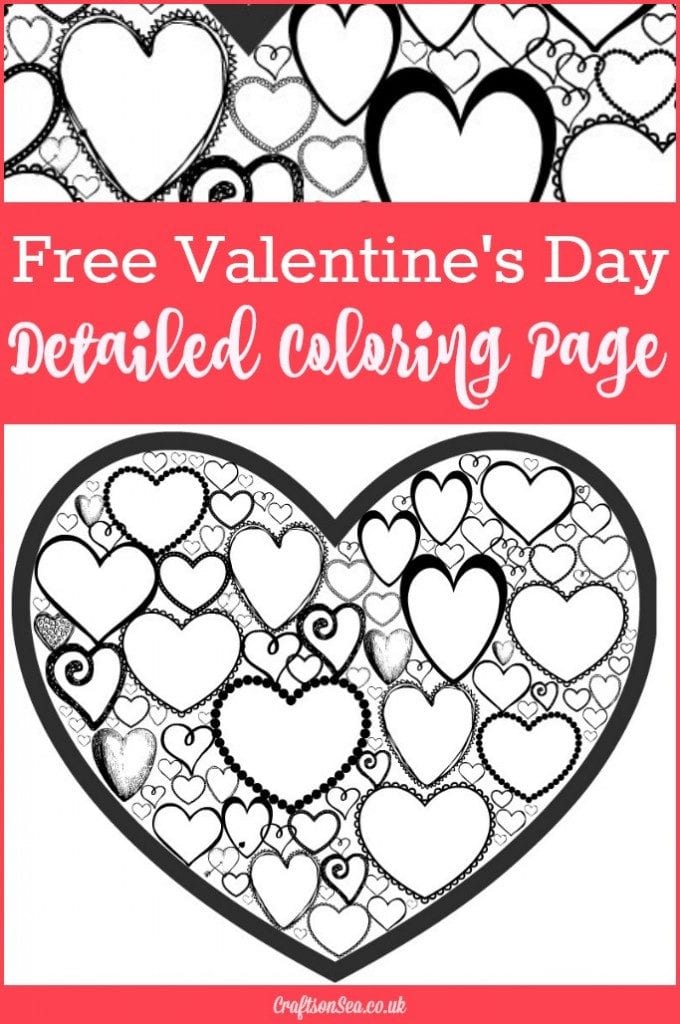 5 Free Valentines Coloring Pages - Perfect for School ...