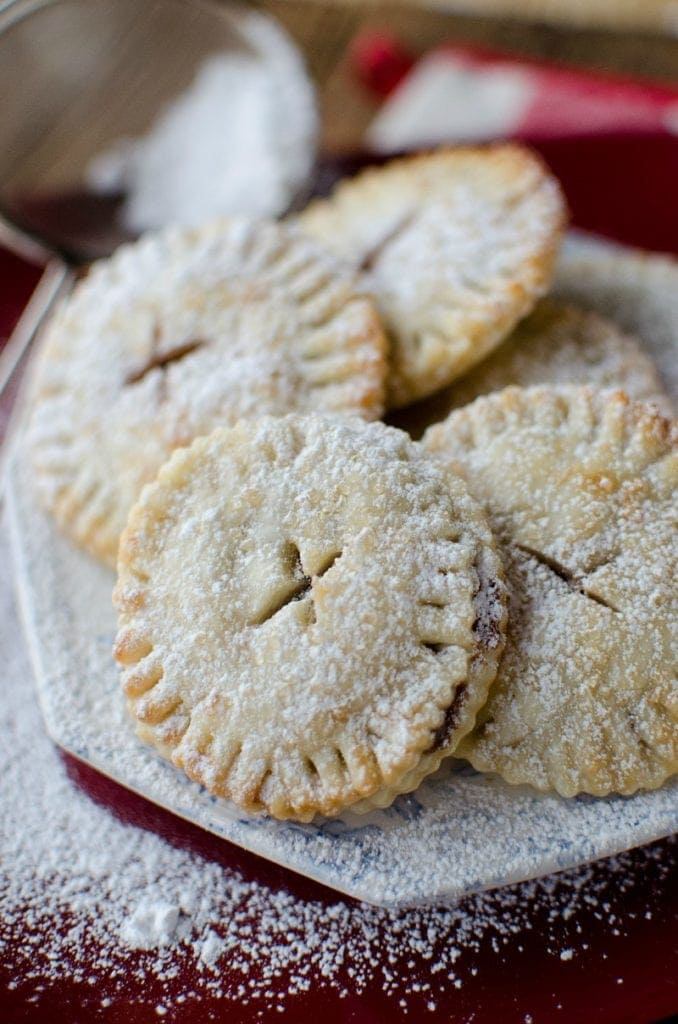 Nutella Mini Pies are versatile desserts for parties for various holidays.