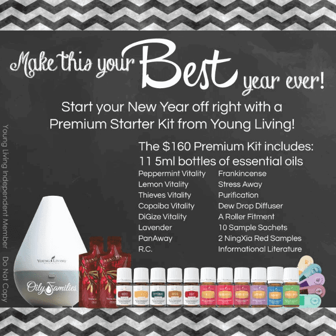 Young Living Essential Oils New Year
