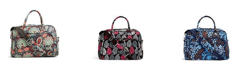 Vera Bradley Weekender Bag Sale