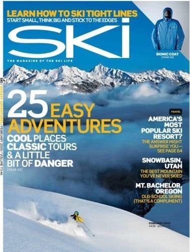 Ski Magazine Subscription – $4.99 Right Now!