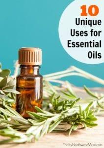 10 Unique Uses for Essential Oils