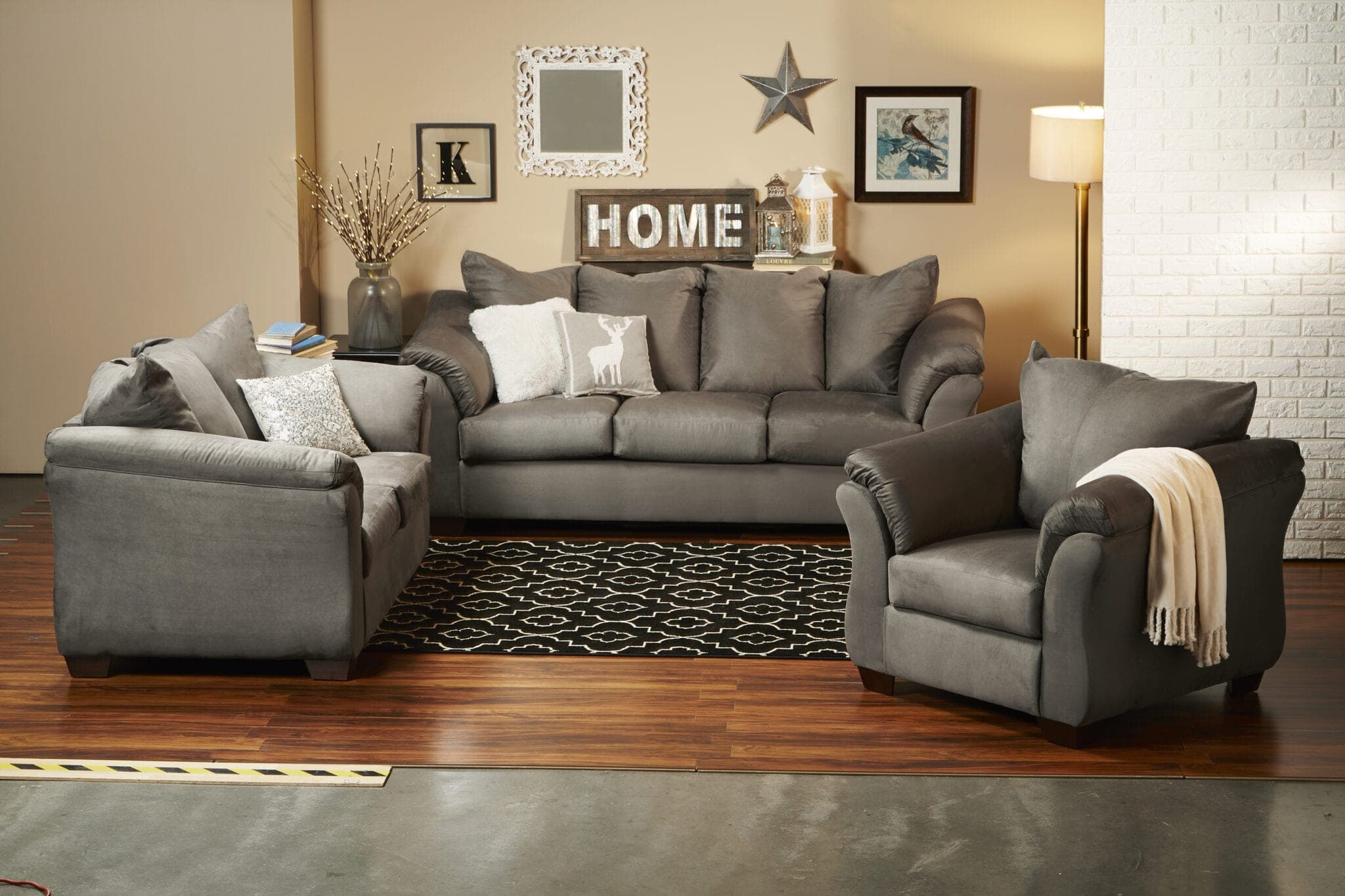 Fred meyer sofa for Ashley lucia sofa chaise