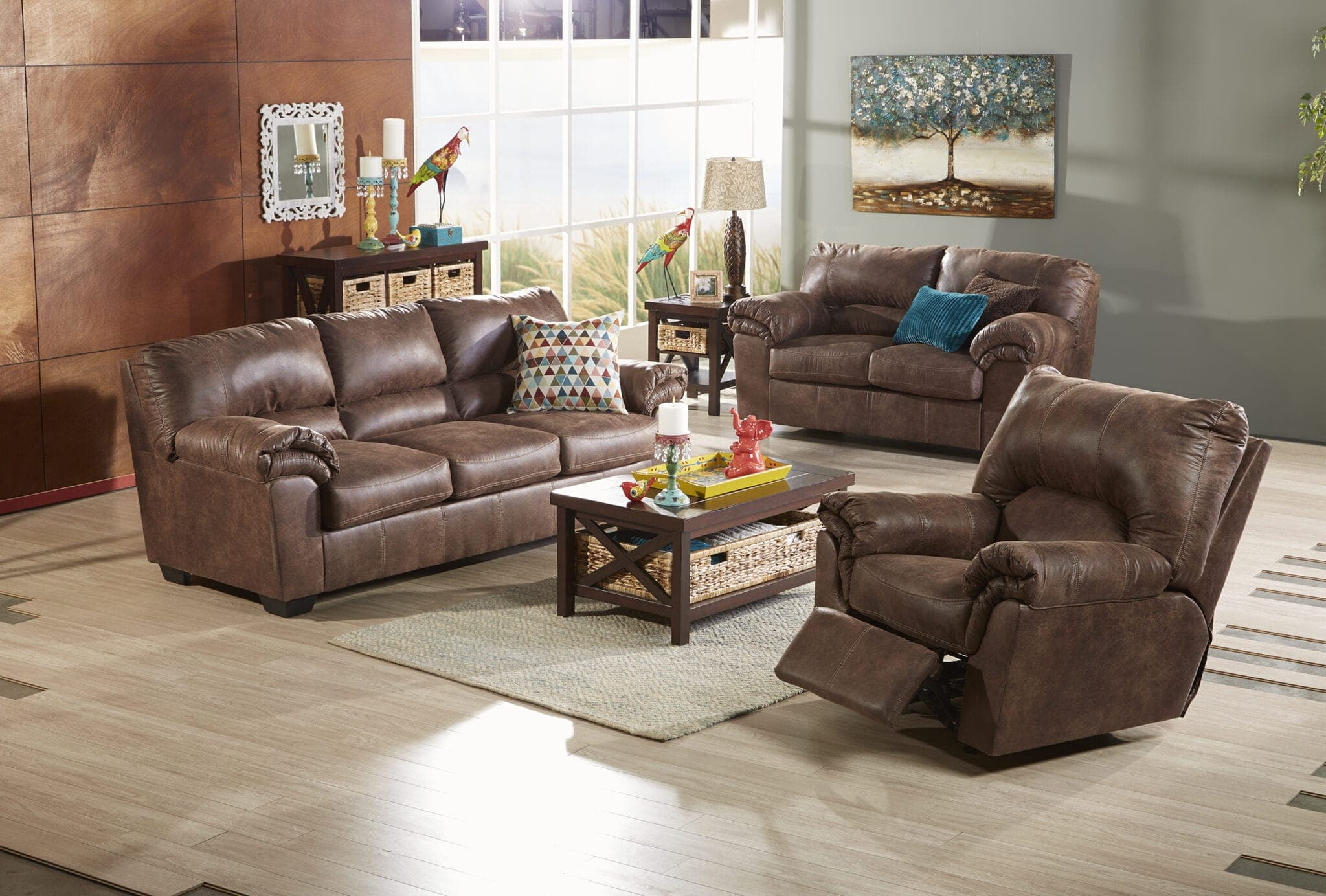 fred meyer truckload furniture event couches under 300 5 pc dining set more. Black Bedroom Furniture Sets. Home Design Ideas