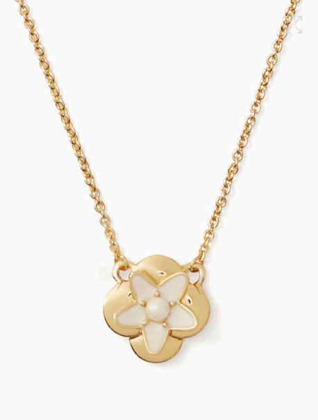 Kate Spade Mini Pendant Necklace