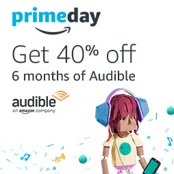 Audible Promo - 40% off for Prime Day