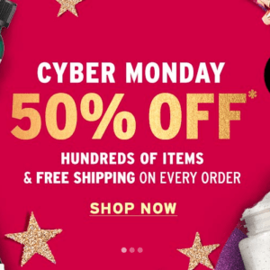 Body Shop Cyber Monday Sale