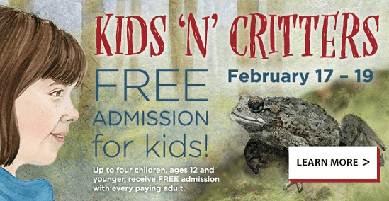 Northwest Trek – FREE Admission For Kids – Kids 'n Critters – Rescheduled for March 9th & 10th