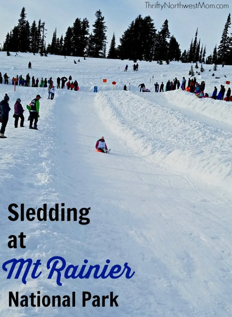 Sledding at Mount Rainier National Park is a fun winter activity in the Northwest if you know these tips before you go.