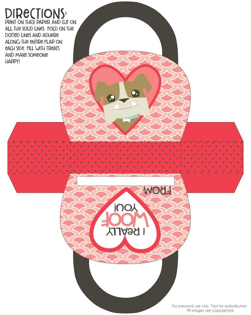Free Valentine Purse Printable