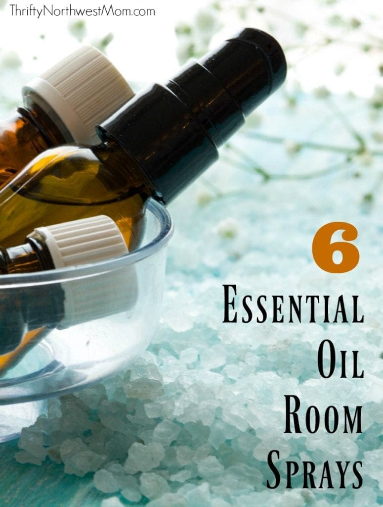 6 Essential Oil Room Spray Blends for Everyday Use