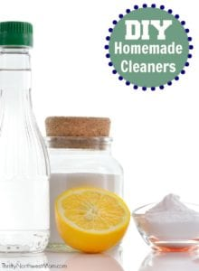 DIY Homemade Cleaners for a frugal and non-toxic cleaning option in your home.