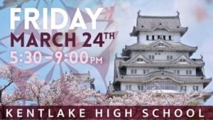 Kentlake High School Cherry Blossom Festival