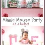 Minnie Mouse Birthday Party on a Budget!