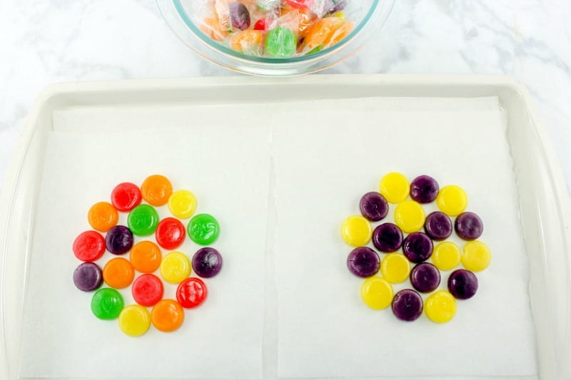Process for Making Candy Easter Bowls