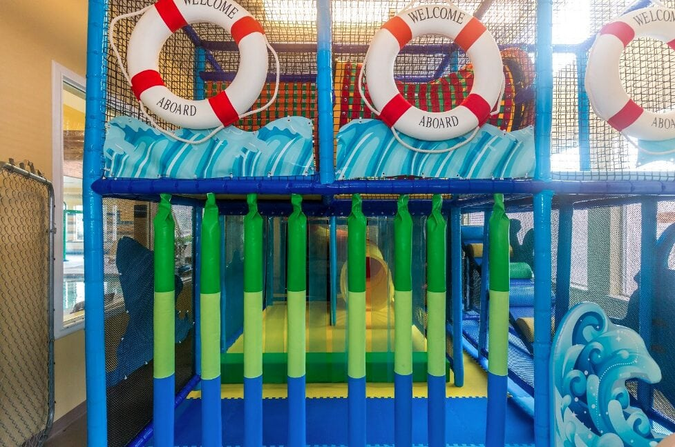 Driftwood Shores Indoor Play Area