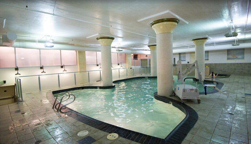 Embassy Suites in Downtown Portland Indoor Pool