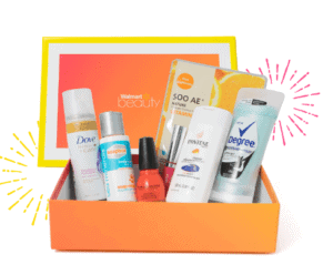 Walmart Beauty Box for Summer