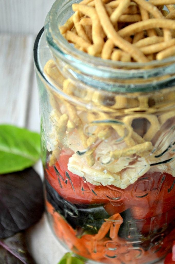 Chinese Chicken Salad Recipe: Easy & in a Jar Recipe!