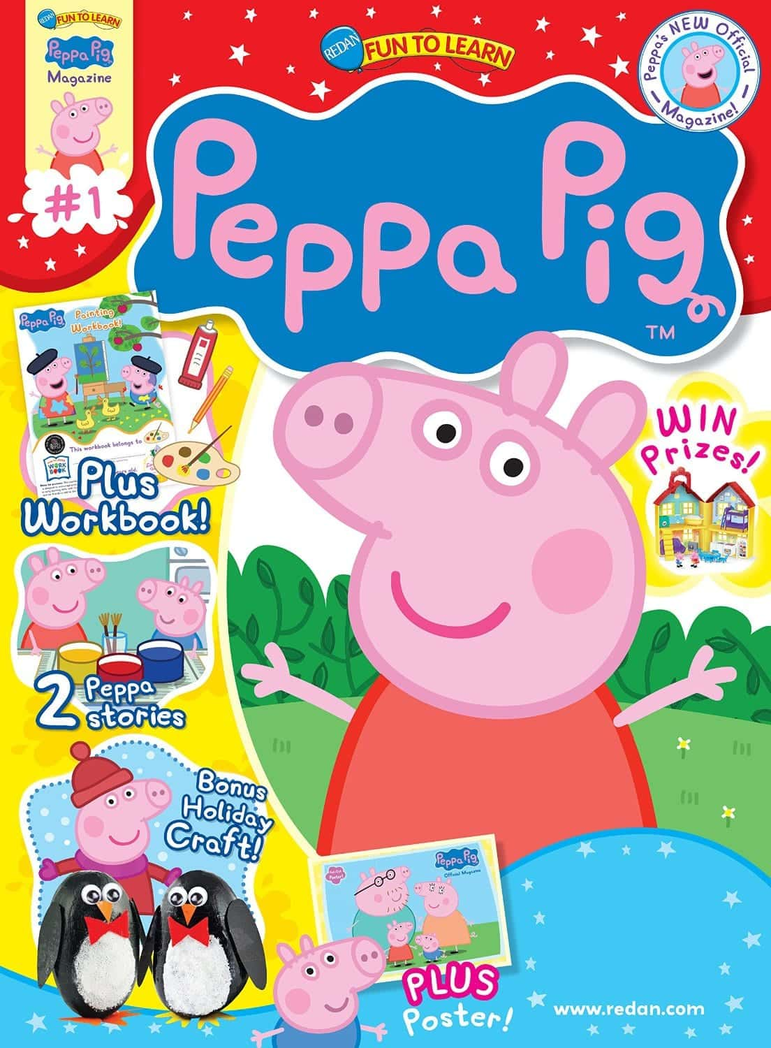 Peppa Pig Magazine Subscription – On Sale for $12.99 for 1 Year Subscription! (reg $28.97)