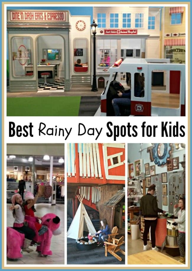 Where to Go with Kids on a Rainy Day? Indoor Activities To Keep Kids Busy!