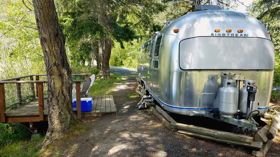 Airstream Camping at Lakedale Resort