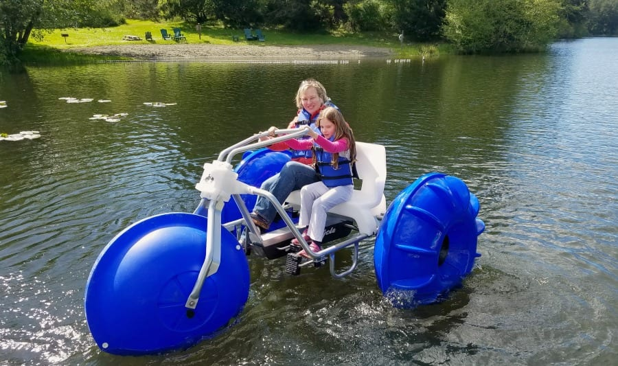 Aqua Cycle at Lakedale Resort San Juan Island