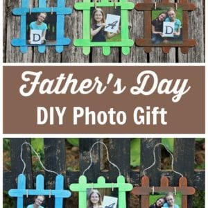 Fathers Day DIY Photo Gift