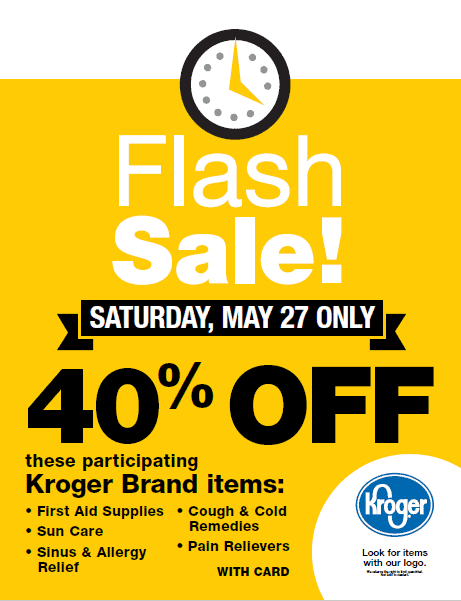Fred Meyer Flash Sale Sat 5:27