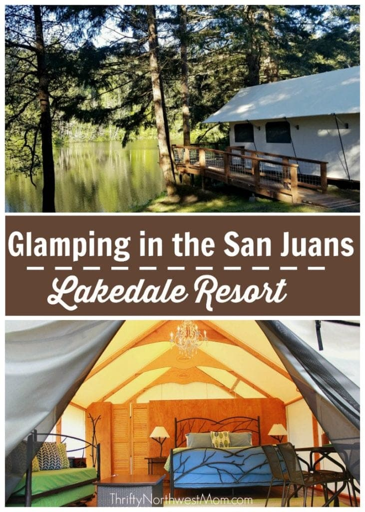 Glamping in the San Juans at Lakedale Resort