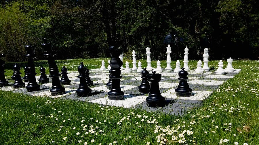 Life Size Chess at Lakedale Resort