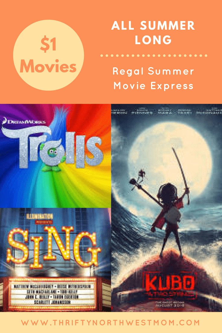 If you're looking for a way to beat the heat or rainy day fun in the summer, check out the $1 Summer Movies at Regal theaters for frugal fun with kids.