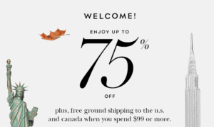 Kate Spade Surprise Sale 75% off