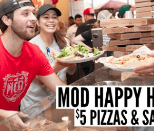 Mod Pizza Deal