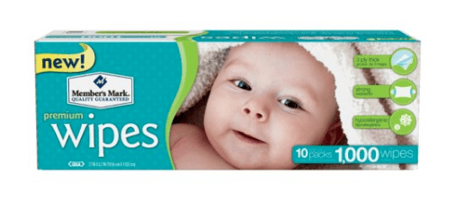 Member's Mark Baby Wipes