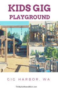Kids Gig Playground in Gig Harbor WA - A hidden gem kids will love