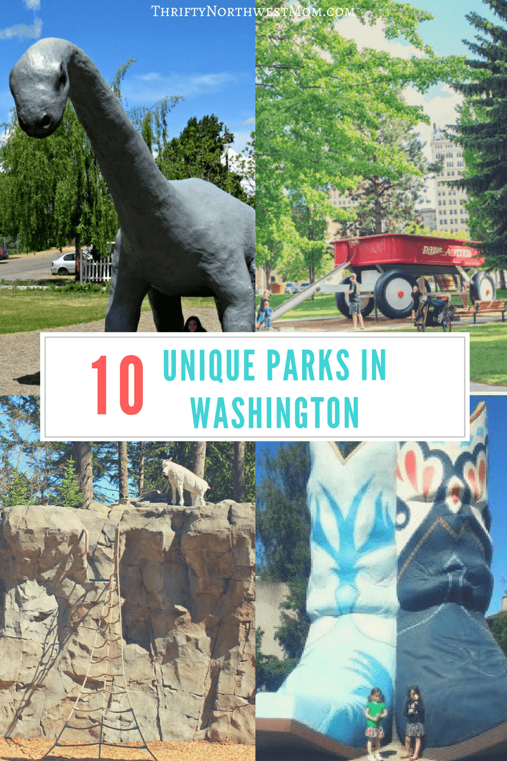 Check out these 10 Unique Parks in Washington to visit with your family that your kids will love.