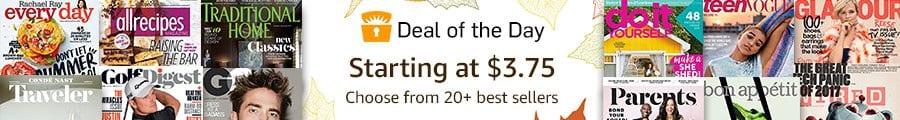 Cheap Magazine Subscriptions on Amazon – $0.99 Cent Subscription!