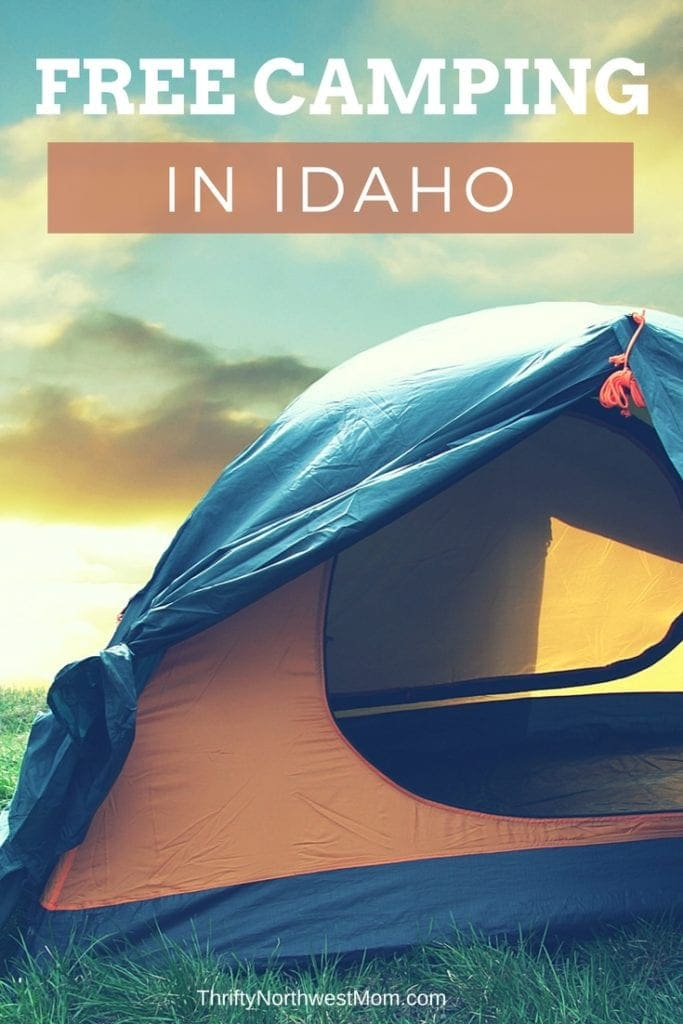 Save & Free Camping Sites in Idaho to Camp on a Budget - Thrifty NW Mom