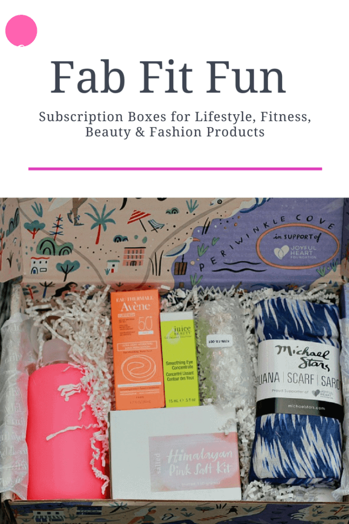 Everything You Need for Summer in One Box with Fab Fit Fun