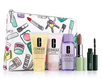 Clinique 6 Piece Gift Set – $15 Plus $10 Credit for Clinique Purchase & Free Shipping!