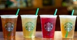 Starbucks Free Tall Teavana Iced Tea Drink
