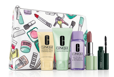 Clinique 6 Piece Gift Set