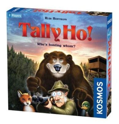 Tally Ho Two Player Hunting Themed Board Game