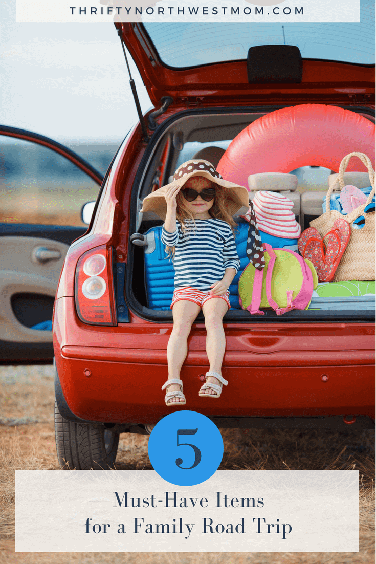 5 Must Have Items for a Family Road Trip