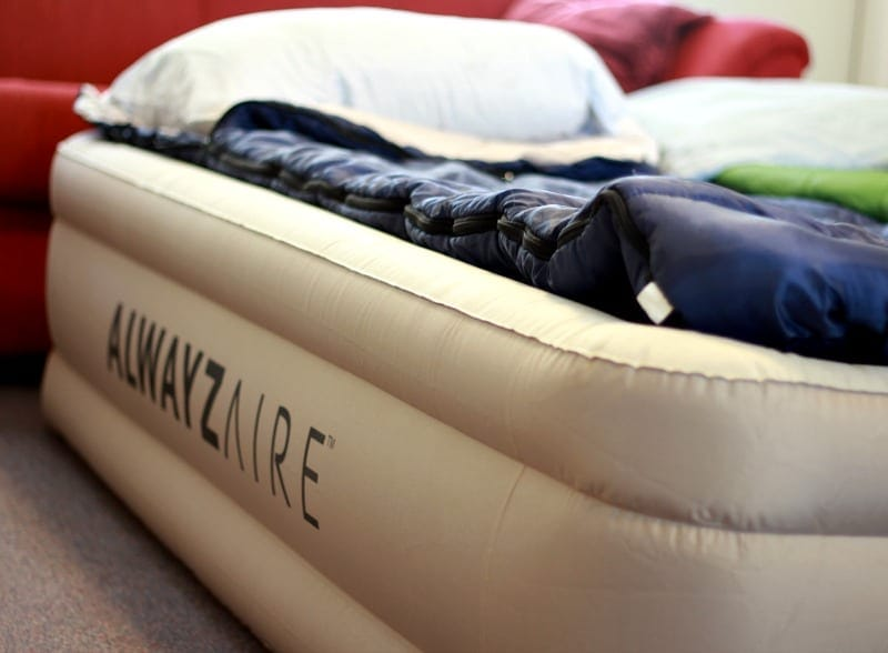 Fortech Queen Airbed with Built In Alwayzaire Pump Review
