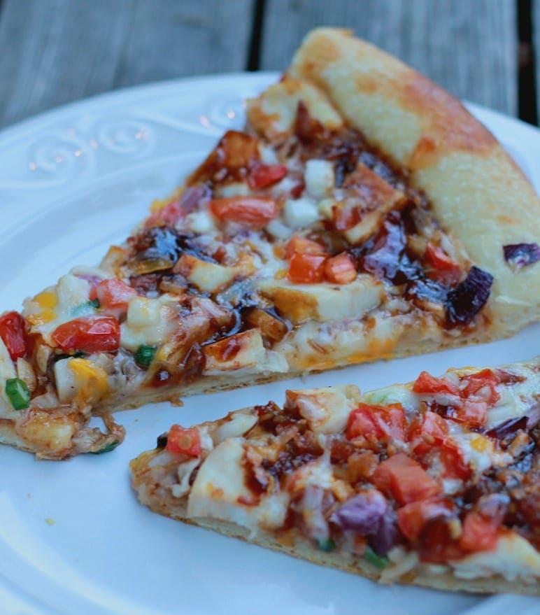 BBQ Chicken Pizza from Papa Murphys