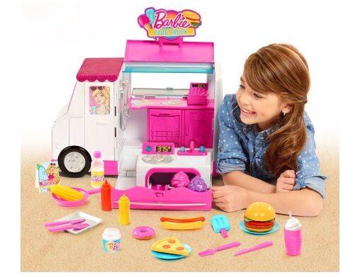Barbie Food Truck $24.87!